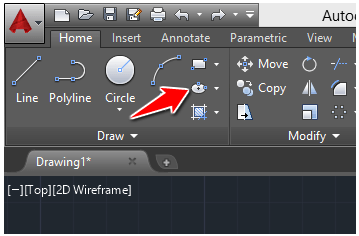ellipse icon autocad