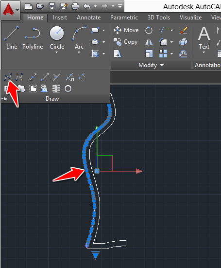 model-a-vase-in-AutoCAD
