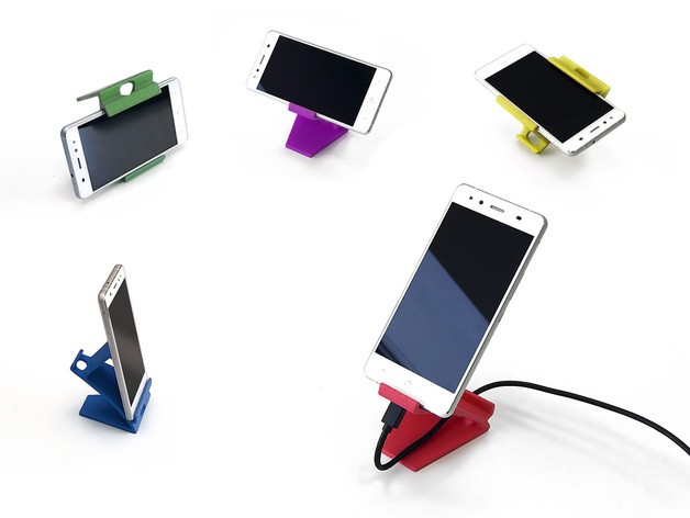 17 3D Printed Weird Phone Stands You Can Print in A minute