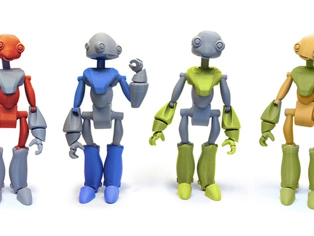 15 3D Printed Robot Toys You Can Print Today