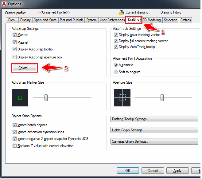 How to Change AutoCAD Background Color