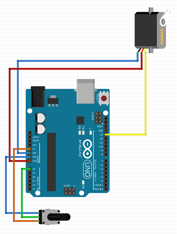 Arduino Projects: Servo Potentiometer Control