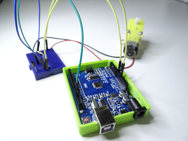 Arduino Projects: Arduino DC Motor Control