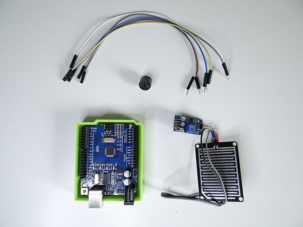 Rain Sensor Arduino Project With Buzzer