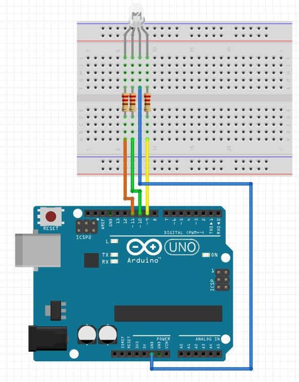 Arduino Projects: RGB LED Arduino