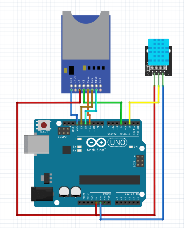 Arduino Temperature Logger Project