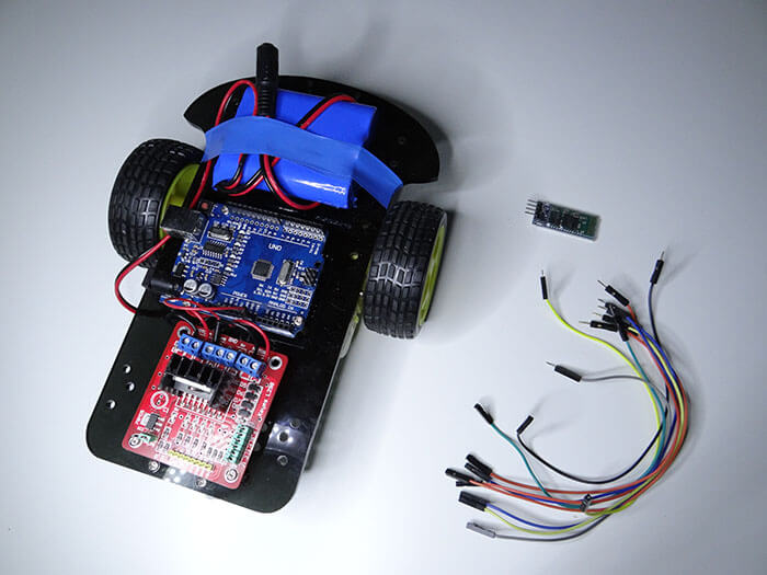 Arduino Bluetooth RC Car Project