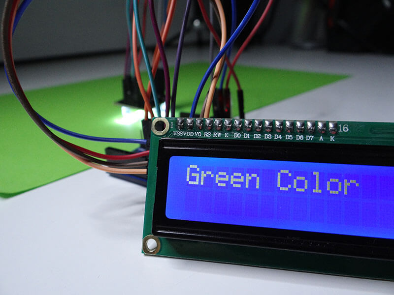Arduino Projects: Color Sensor