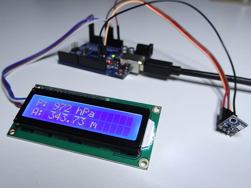 Arduino Barometer Project Using BMP180