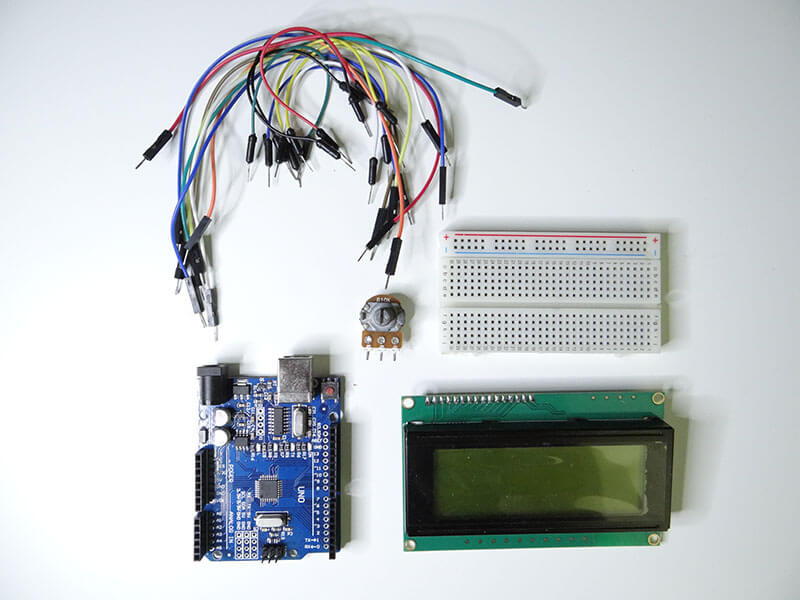 Arduino Projects: Arduino LCD Display