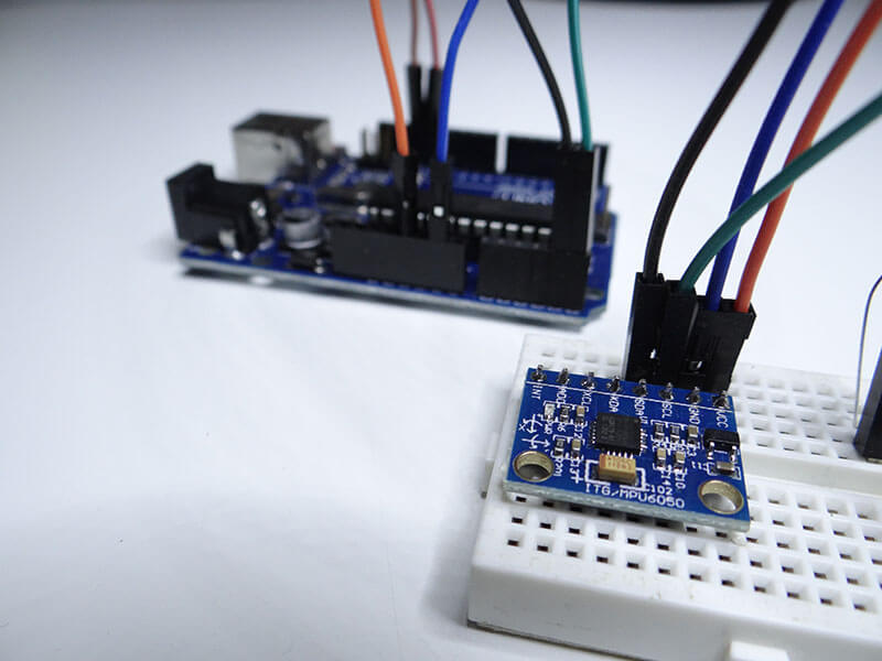 MPU6050 Arduino Project