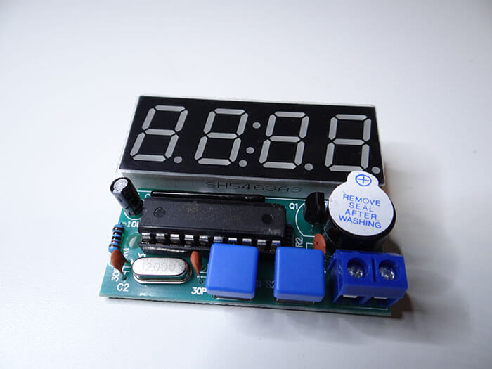 DIY Electronic clock