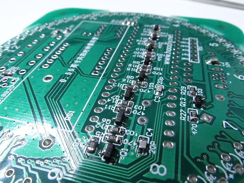 component on the circuit board
