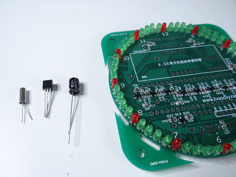 circuit board and components