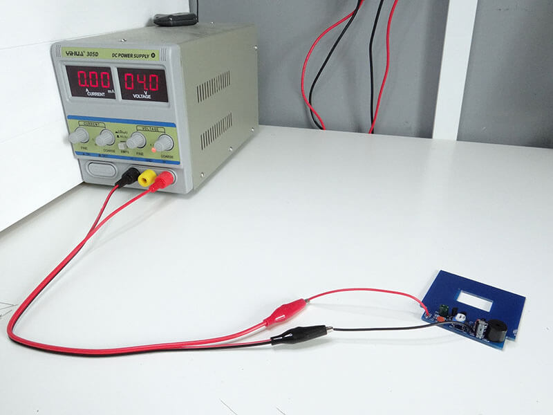 power supply with circuit board