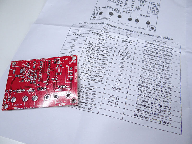 square wave generator circuit board diy