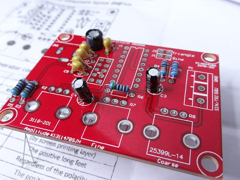 square wave generator circuit board