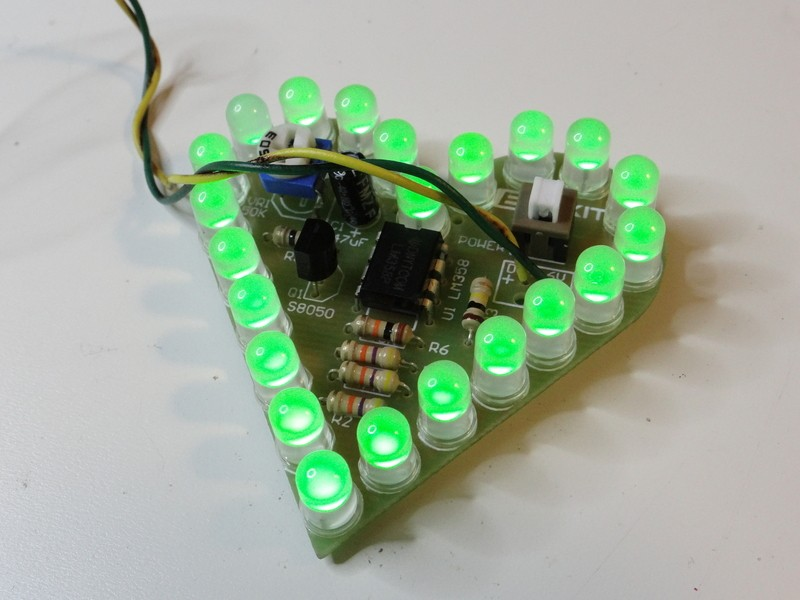 electronic diy projects with led on