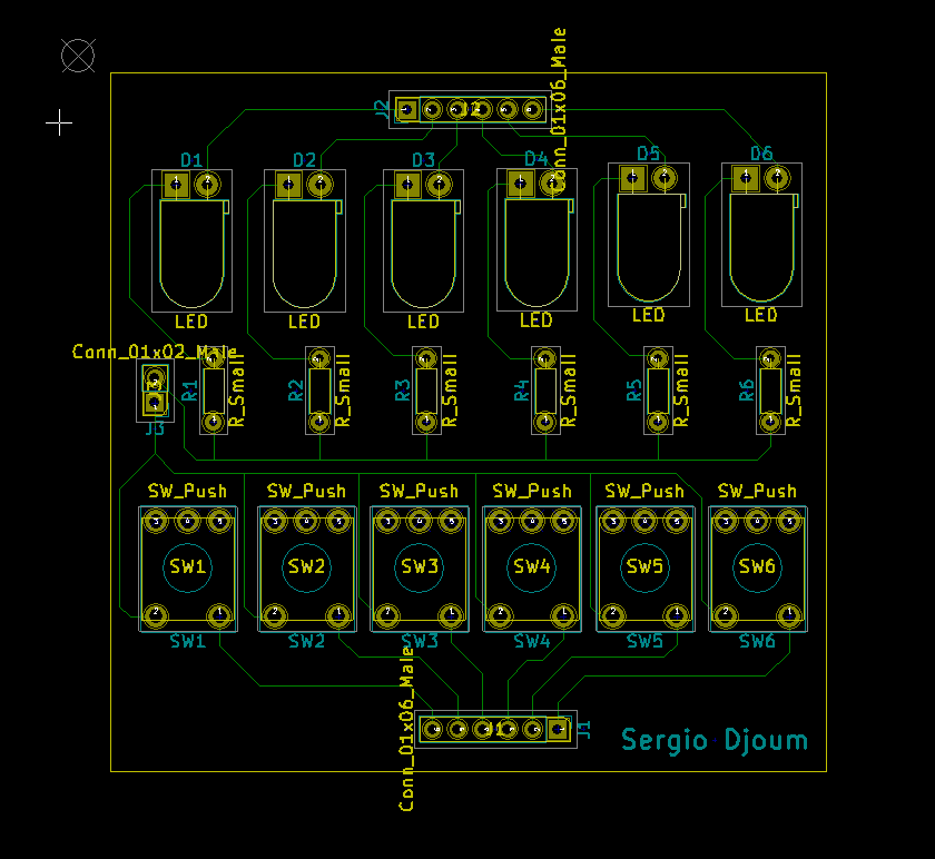 schematic electronic board