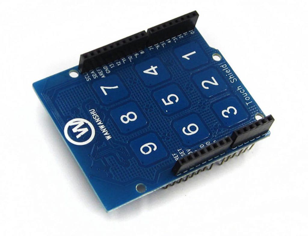 Capacity TouchPad Shield