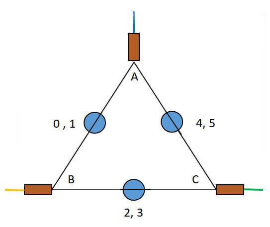 Charlieplexing schematic