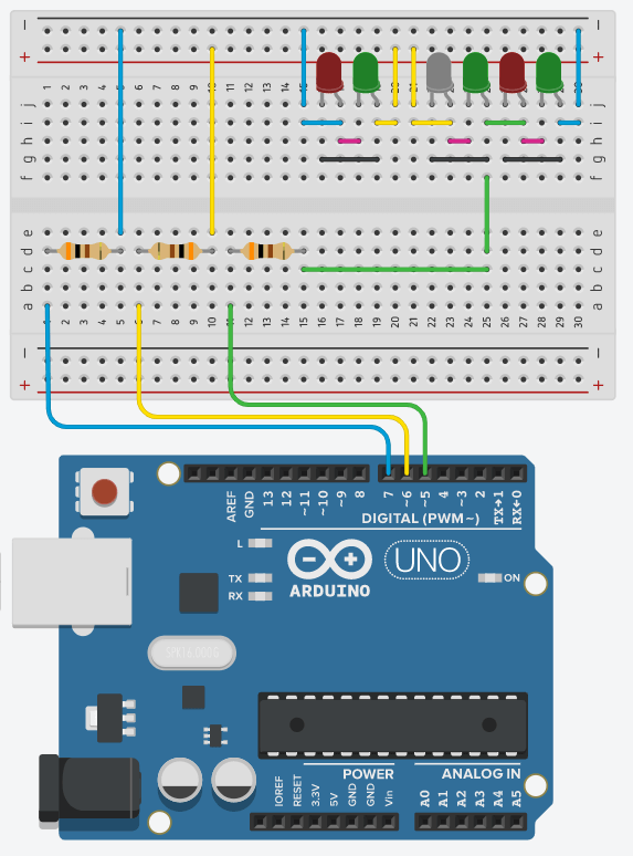 Charlieplexing LEDs With The Arduino Board