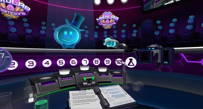 HoloLAB Champions - games for engineers