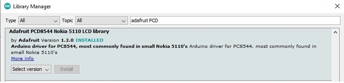Nokia 5110 Arduino Project From Start to Hero