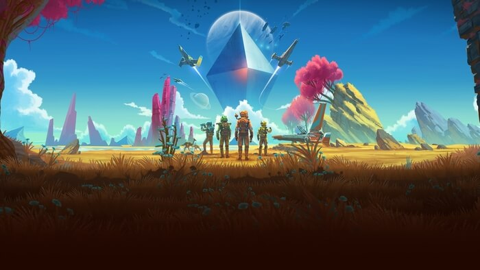 No Man's Sky game for an engineer