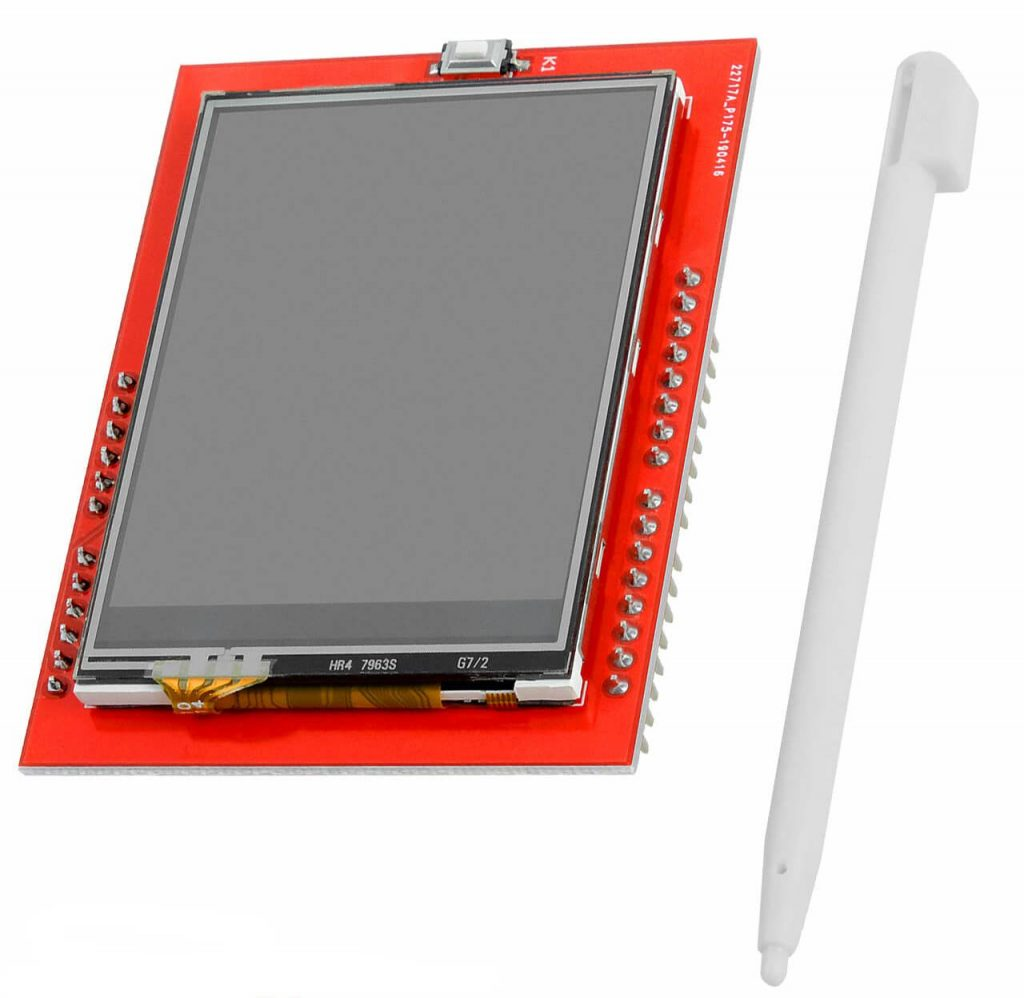 Arduino Touch Screen Project